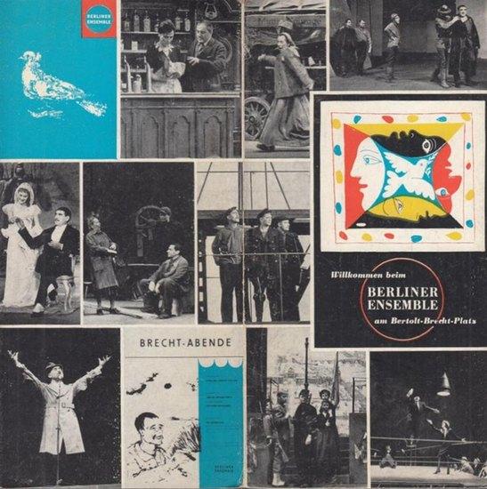 Berliner Ensemble. - Unser Spielplan 1964 / 1965. Inhalt: Schauspieler / Spielplan / Vorschau auf Neuinszenierungen / Vergünstigungen / Mitarbeiter etc.