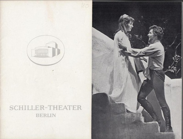 Schillertheater Berlin. - Boleslaw Barlog (Intendanz). - William Shakespeare. - Troilus und Cressida. Spielzeit 1966 / 1967. Heft 180. Inszenierung: Ernst Schröder. Mit u. a.: Götz George als Troilus, Heidemarie Theobald, Rudolf Fernau, Bernhard Minett...