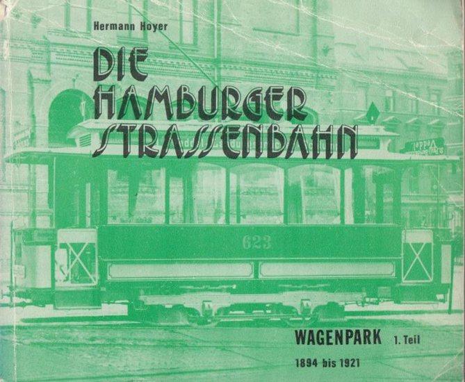 Hoyer, Hermann: Die Hamburger Strassenbahn. Der Wagenpark. 1.Teil: 1894 bis 1921 (= Band 4 der historischen Schriftenreihe des Verein Verkehrsamateure und Museumsbahn e. V. Hamburg).