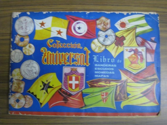 Miranda, Verlagsanstalt, Quickborn. - Miranda - Álbumes de recortes: Mapas, Banderas, Monedas, Escudos de Armas / Sammelalben: Landkarten, Flaggen, Münzen, Wappen.