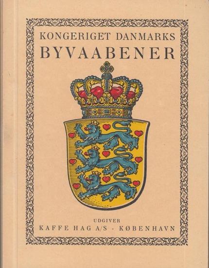 Kaffee Hag A/S - Kobenhavn Kongeriget Danmarks Byvaabener -- Die Städte des Königreichs Dänemark.