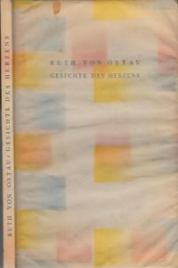 8° (22,5 x 14,3 cm). Original-Pappband mit bunt gemusterten Buchdeckeln und halbtransparentem, betiteltem Pergamentpapierüberzug. Das Pergamentpapier leicht gewellt, am oberen Rand mit einem Fleck (ca.1,1 x 0,5 cm). 69 Seiten auf Hadern-Bütten, 1 Bll. ...