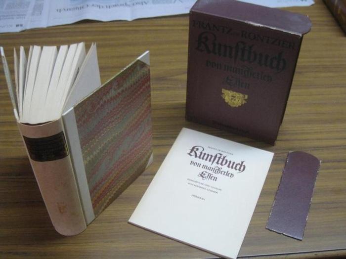 Rontzier, Frantz de / Manfred Lemmer (Kommentar): Kunstbuch von mancherley Essen ( Gesotten / Gebraten / Pasteten / von Hirschen / Vogelen / Wildtprat / und andern Schawessen….)