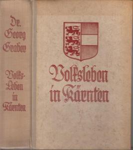 Graber, Georg: Volksleben in Kärnten.