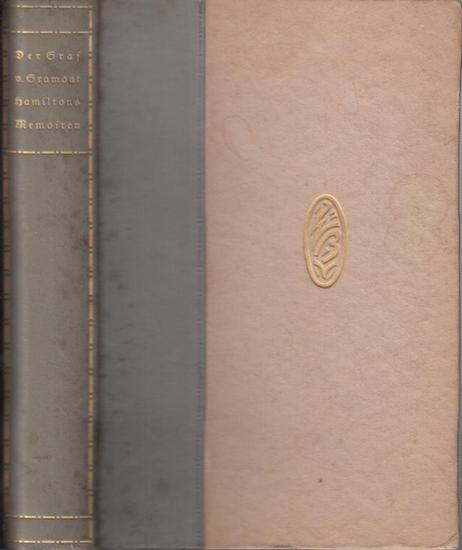 Gramont - Hamilton, L. - Bayros, F. v. (Ill.): Die Memoiren des Grafen v. Gramont.