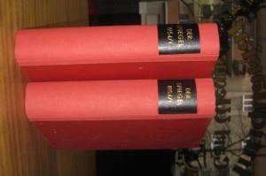 Spiegel, Der - Augstein, Rudolf (Hrsg.) Hand Detlev Becker (Red.): Der Spiegel. VIII. ( 8. ) Jahrgang 1954. Ausgaben 1 - 52 komplett in 2 Halbjahresbänden.
