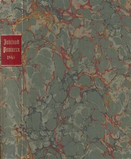 Pommern. - Hrsg.: E. W. Bourwieg. - Jahrbuch der Provinz Pommern. Für 1843. REPRINT.