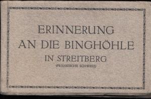 Binghöhle.- Erinnerung an die Binghöhle in Streitberg (Fränkische Schweiz).