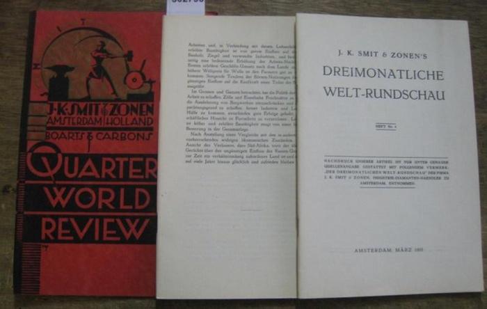 Smit & Zonen, J. K. (Hrsg.): Heft Nr. 4, März 1935. J. K. Smit & Zonen ' s Dreimonatliche Welt-Rundschau.
