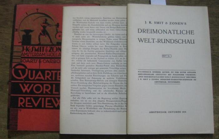Smit & Zonen, J. K. (Hrsg.): Heft Nr. 5, Oktober 1935. J. K. Smit & Zonen ' s Dreimonatliche Welt-Rundschau.