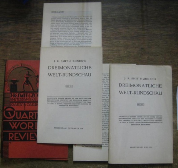 Smit & Zonen, J. K. (Hrsg.): Heft Nr. 6 / 7, Mai - Dezember 1936. J. K. Smit & Zonen ' s Dreimonatliche Welt-Rundschau.