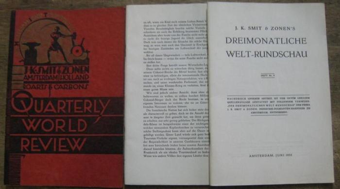 Smit & Zonen, J. K. (Hrsg.): Heft Nr. 9, Juni 1938. J. K. Smit & Zonen ' s Dreimonatliche Welt-Rundschau.