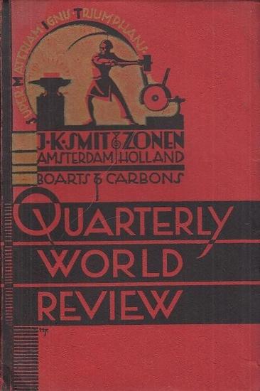Smit & Zonen, J. K. (Hrsg.): Heft Nr. 10, Dezember 1939. J. K. Smit & Zonen ' s Dreimonatliche Welt-Rundschau.
