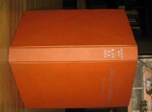 271 (1) Seiten. Orangefarbener Original-Leinenband. Das Leinen etwas angestaubt. 8°. Gutes Exemp...