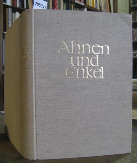 Euler, Friedrich Wilhelm / H. - L. Freiherr v. Gemmingen - Hornberg. - Ahnen und Enkel. Sammlung von Ahnen - und Nachkommen - Listen (= Arbeiten aus dem Institut zur Erforschung historischer Führungschichten, Band 5 ).