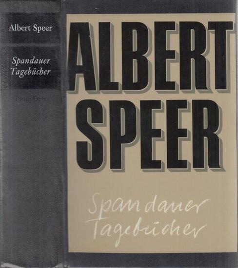 Speer, Albert: Spandauer Tagebücher.