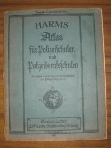 Harms. - Polizei. - Atlas für Polizeischulen und Polizeiberufsschulen. Ausgabe C, Ergänzungs-Atlas. Bearbeitet von Polizei-Schulfachleuten und Polizei-Offizieren.
