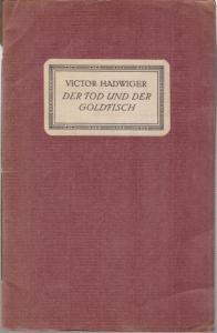 Hadwiger, Victor (1878 - 1911): Der Tod und der Goldfisch. 2. Münchner Liebhaber - Druck.