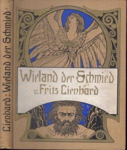 19,7 x 15 cm. Original-Leinenband mit farbig geprägtem Vorderdeckel, gemusterten Vorsatzpapieren und blauem Dreiseitenschnitt. XIX, 86 Seiten, 1 Blatt. gut erhalten.