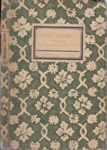 Kaiser Wilhelm I. : Insel-Bücherei Nr. 168: Kaiser Wilhelm I. - Briefe aus den Kriegsjahren 1870 / 1871. Mit Anmerkungen.