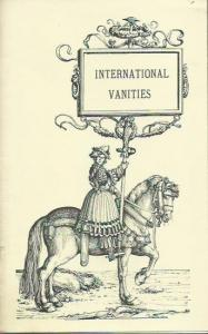Marshall, Frederic: International Vanities. Reprint of the edition Edinburgh 1875.