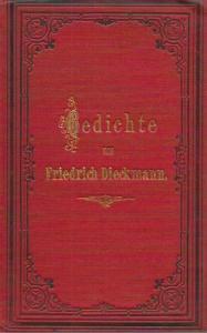 Dieckmann, Friedrich: Gedichte.