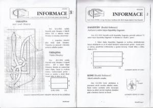 Informace / Vexi Info. - Flag Data Centre. - Petr Exner: Informace No. 1 - 27 / Vexi Info No. 28 - 51. April 1994 - September / October 2000. Zpravodaj strediska vexilologikych informaci ( The Bulletin of the Flag Data Centre ).