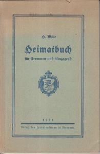 Kremmen. - Wille, Hermann ( Rektor in Kremmen): Heimatbuch für Kremmen und Umgebung.