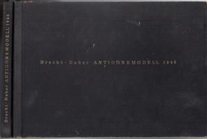 Brecht, Bertolt / Neher, Casper. - Deutsche Akademie der Künste (Hrsg.): Antigonemodell 1948 ( = Ruth Berlau - Modellbücher des Berliner Ensemble, 1 ).