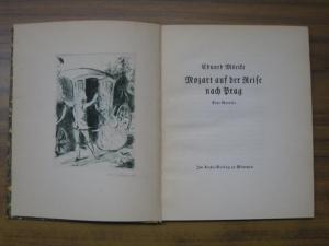 Scharrer, O. W. - Mörike, Eduard: Mozart auf der Reise nach Prag. Eine Novelle.