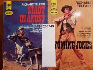Telfair, Richard: Konvolut mit 2 TB: 1.Wyoming Jones. 2.Stadt in Angst.