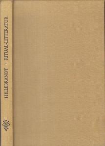 Hillebrandt, Alfred - G. Bühler (Hrsg.): Ritual-Litteratur Vedische Opfer und Zauber. (= Grundriss der Indo-Arischen Philologie und Altertumskunde III. Band, 2. Heft hrsg. von G. Bühler).
