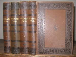 Hauff, Wilhelm. - Adolf Stern ( Hrsg. ): Wilhelm Hauff ' s Werke. Illustrirte Ausgabe. Komplett in 4 Bänden.
