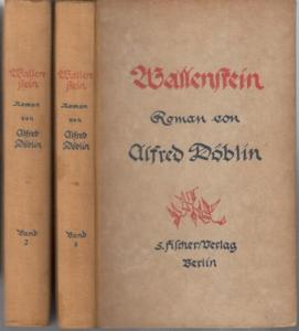 Döblin, Alfred : Wallenstein. Roman. Komplett in 2 Bänden.