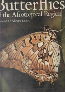D´Abrera, Bernard - R.H. Carcasson: Butterflies of the Afrotropical Region. Based on Synonymique Catalogue of the Butterflies of the Ethiopian Region by R.H. Carcasson. (= Butterflies of the world, vol. 2).