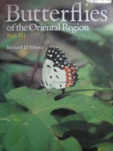 D´Abrera, Bernard: Butterflies of the Oriental Region. Part III Lycaenidae & Riodinidae.