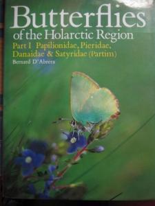 D´Abrera, Bernard: Butterflies of the Holarctic Region. Part I Papilionidae, Pieridae, Danaidae & Satyridae (Partim).