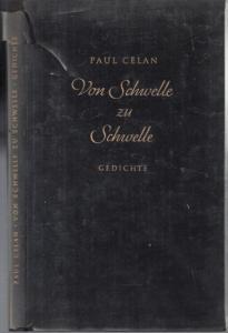 Celan, Paul: Von Schwelle zu Schwelle - Gedichte.