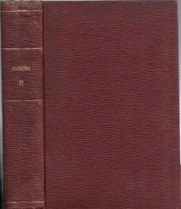 Dickens, Charles - John Leech, Frederick Barnard (Illustrations): [Collection of Works / Anthology. Title on spine: Dickens II ]: Includes are: 1) The Cricket on the Hearth: A Fairy Tale of Home. 2). Barnaby Rudge - A Tale of the Riots of Eighty. 3) The O