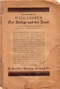 Heckel, Hans Humor im Weihnachtsspiel. In: Der Bühnenvolksbund - Reichsblätter des BVB, Jahrgang III, Heft 4, Dezember 1927.