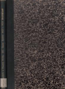 Statistik des Deutschen Reichs. / Statistisches Reichsamt. - Der Auswärtige Handel Deutschlands in den Jahren 1923 und 1924 verglichen mit den Jahren 1913 und 1922 - Nach Warengruppen, Warengattungen und Ländern