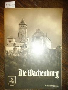 Wachenburg, Die. - Geyer, Hellmuth (Red.): Die Wachenburg. Verbandsorgan des WSC ( Nachrichten des Weinheimer Senioren-Convents ) . Konvolut mit 10 Heften, enthalten sind: Jahrgang 1955 Hefte 3 und 5. / Jgg. 1956 Hefte 1, 3, 4, 5 und 6. / Jhg. 1957 Hefte