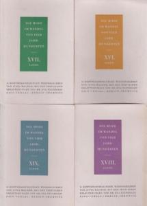 Wagner, Jutta / Nienholdt, Eva: Die Mode im Wandel von vier Jahrhunderten. Ein Modespiegel mi einer Auswahl von 80 Kostümdarstellungen der Zeit von 1500 - 1877. Graphische Wiedergaben von Jutta Wagner, textliche Erläuterung: Dr. Eva Nienholdt.