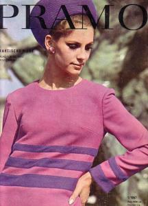Pramo.- Pramo. Praktische Mode. 1 / 1967. Mit Schnittmusterbogen.