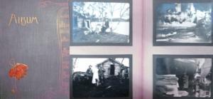 Venedig / Jagd. - Fotoalbum.- Dekoratives privates Fotoalbum- undatiert, mit 31 s/w-Fotos. Überwiegend Bilder die die Jagd betreffen sowie 14 Venedigaufnahmen-größtenteils wahrscheinlich aus einer Gondel gemacht- zeigen u.a.: Rialtobrücke, Durchfahrten...