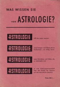 Mengel, Margret: Astrologie. Erkenne dich selbst. Was wissen sie von Astrologie? Heft 1.