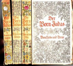 Gorion, J. bin: Der Born Judas. Legenden, Märchen und Erzählungen. Bände 1-4 (von 6). Band 1: Von Liebe und Treue. Band 2: Vom rechten Weg. Band 3: Mären und Lehren. Band 4: Weisheit und Torheit.
