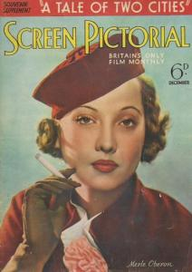 Film. - Souvenir supplement 'A tale of two cities'. Screen pictorial. Britain´s only film monthly. 6d. December 1935.