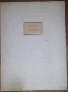 Ulrich, Gerhard: Götterliebschaften. Nach den Überlieferungen der Antike neu erzählt und gezeichnet. Mit einem Vorwort von Herbert Reinoß. Nummer 868 von 1500 Exemplaren, vom Künstler handschriftlich signiert.