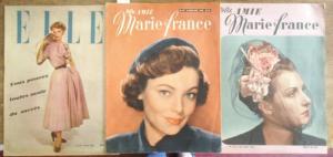 Votre Amie Marie France. - / Elle. - Votre Amie Marie France / Elle.